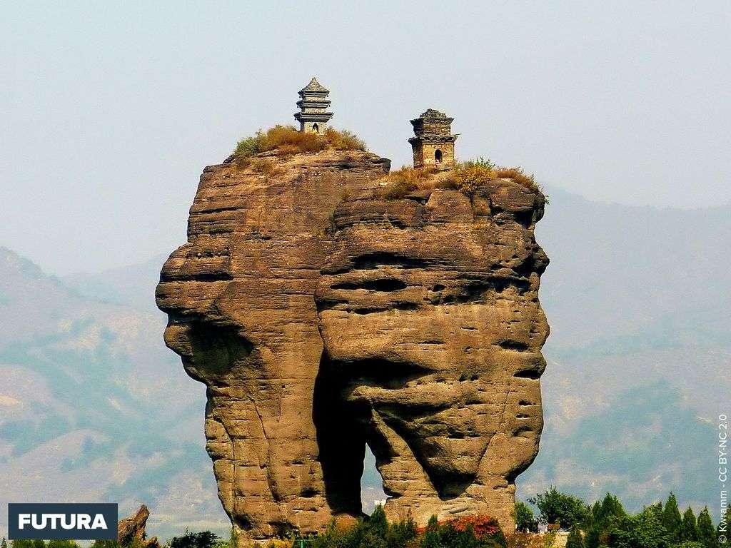 Paysage aux alentours de Chengde - Chine