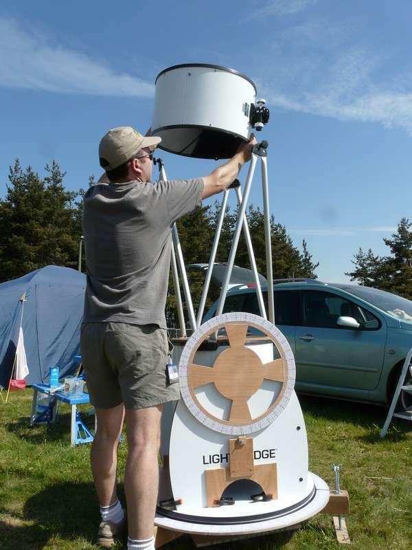 Assemblage d'un télescope Dobson
