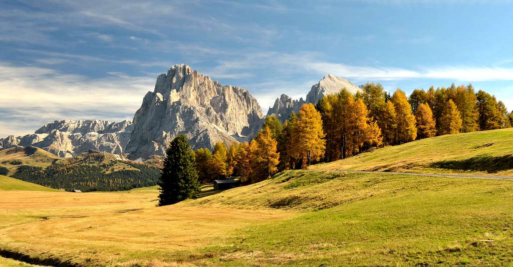 Paysage de montagne. © Wolfgang Moroder, Wikimedia commons, CC by-sa 3.0