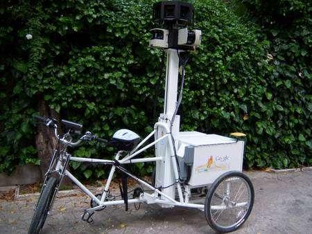 Un tricycle hi-tech pour filmer dans tous les coins, de Paris et d'ailleurs. © DR