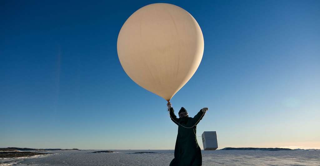 Ballon-sonde. © Worldmetorg, CC by-nc 2.0