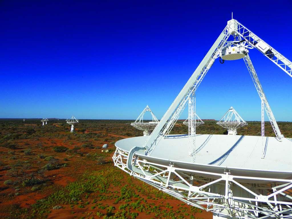 C'est le large champ de vision du Square kilometer array pathfinder (ASKAP) qui a permis de mesurer la forme du nuage de gaz. Les chercheurs espèrent que l'ASKAP leur permettra à l'avenir de détecter ainsi d'autres structures gazeuses dans la Voie lactée. © ASKAP