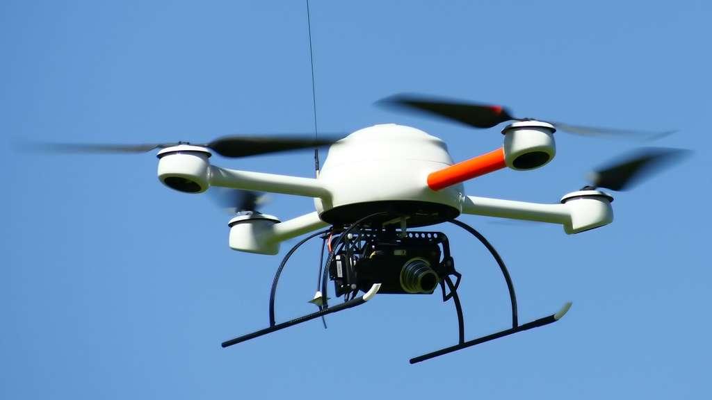 MD4-200, un mini drone réservé aux professionnels