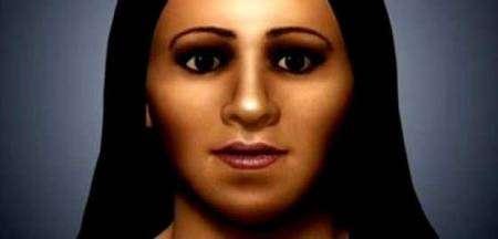 Reconstitution faciale d'Arsinoé IV. Source Université de Vienne