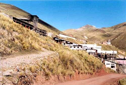 Mine de Huancavelica, au Pérou. © DR