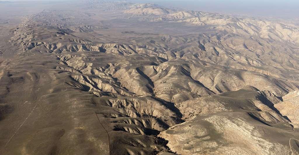 Vue aérienne de la faille de San Andreas en Californie. © Carol M. Highsmith CCO