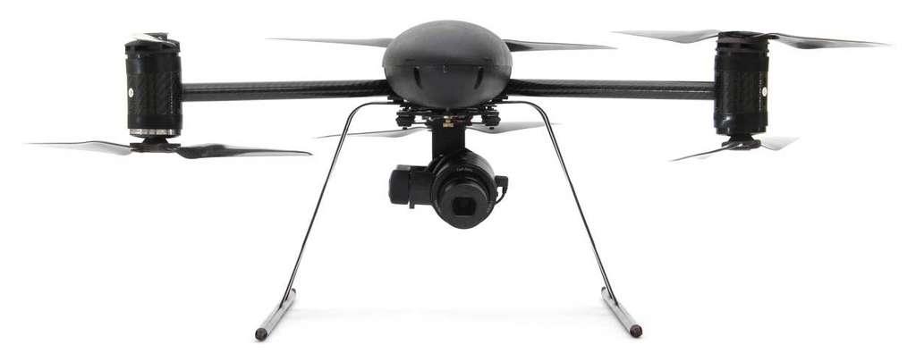 Drone X6 fait partie des types de drones d'urgence de Draganflyer. © Draganflyer
