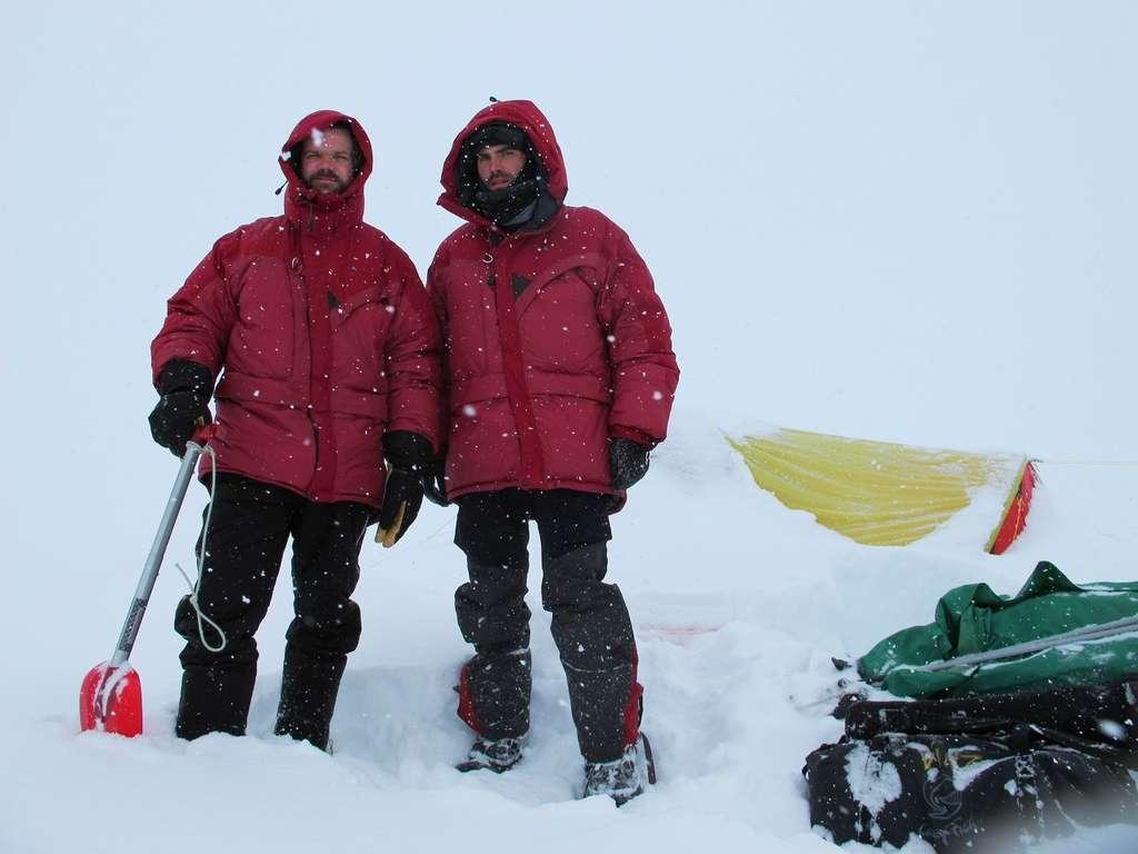 Sur la banquise de la côte Est du Groenland
