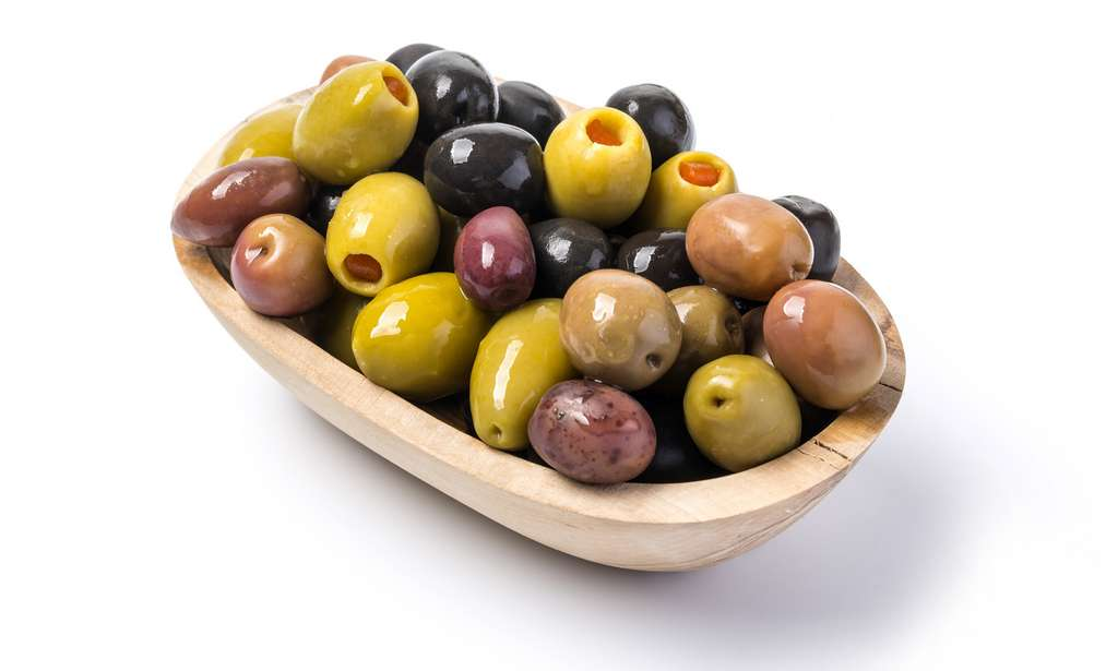 Les olives sont très riches en lipides. © AlenKadr, Fotolia