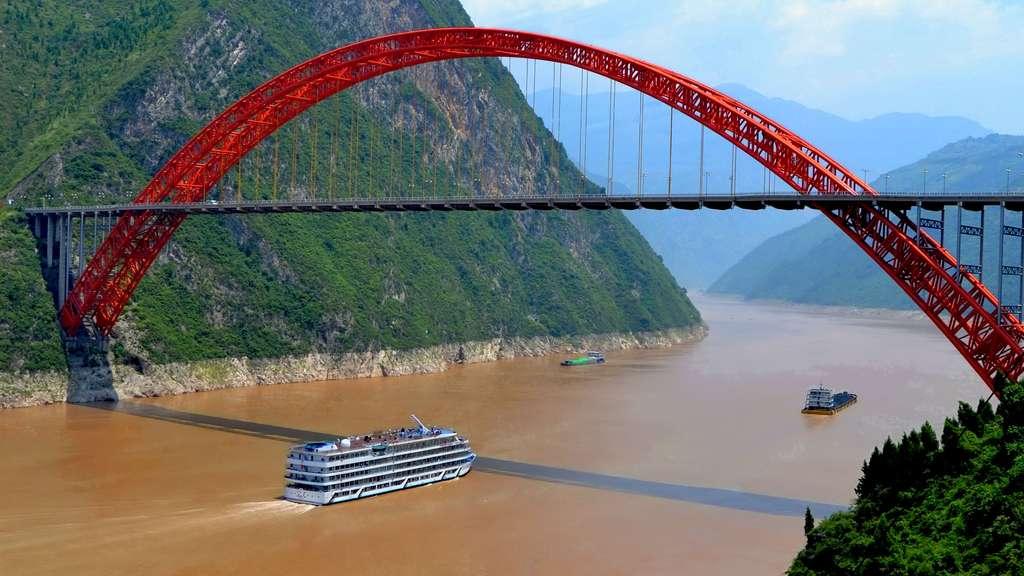 Le pont de Wushan, en Chine