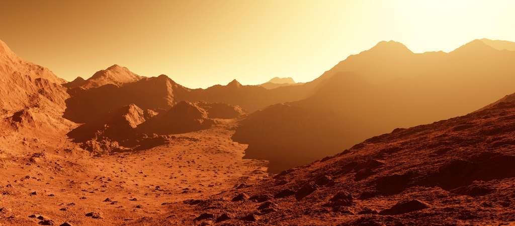 Fouler le sol de Mars dans la décennie 2030 ? La route semble longue... © Shawn Hempel, Adobe Stock