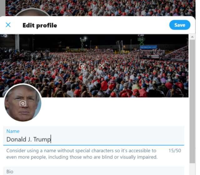 Cet expert en cybersécurité pouvait modifier le profil du compte Twitter de Trump. © Vrij Nederland