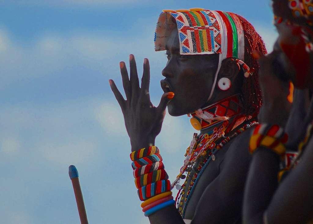 Danseur Masaïi, Kenya. © Alexstrachan, Pixabay, D¨P