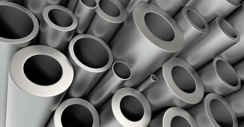 Les tubes en nickel sont une source d'allergie. © Klenger, Shutterstock