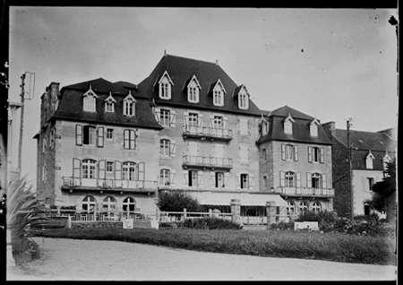 Trébeurden, hôtel Bellevue, début du XXème siècle