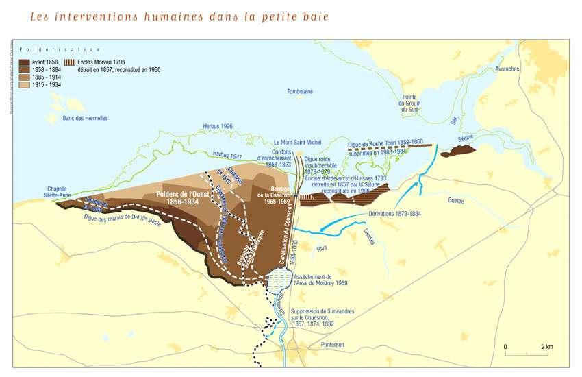 L'environnement du Mont-Saint-Michel
