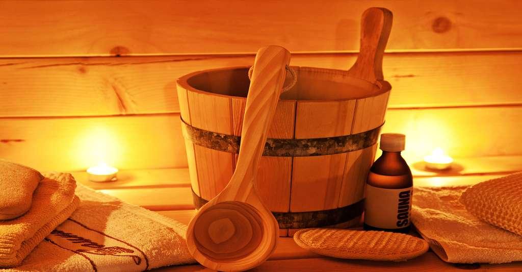 L'entretien du sauna est plus exigent que l'entretien du hammam. © Anitasstudio, Shutterstock