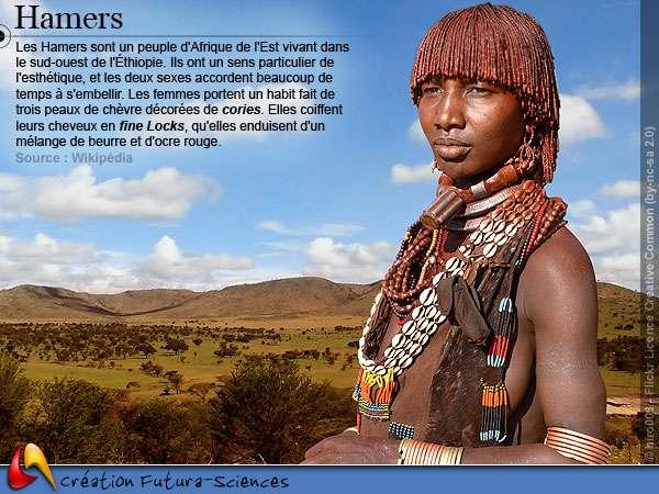 Hamers du sud-ouest de l'Ethiopie