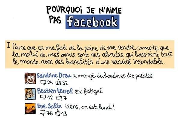 Pour certains, Facebook n'est qu'une plateforme de bavardages inutiles... © Obion