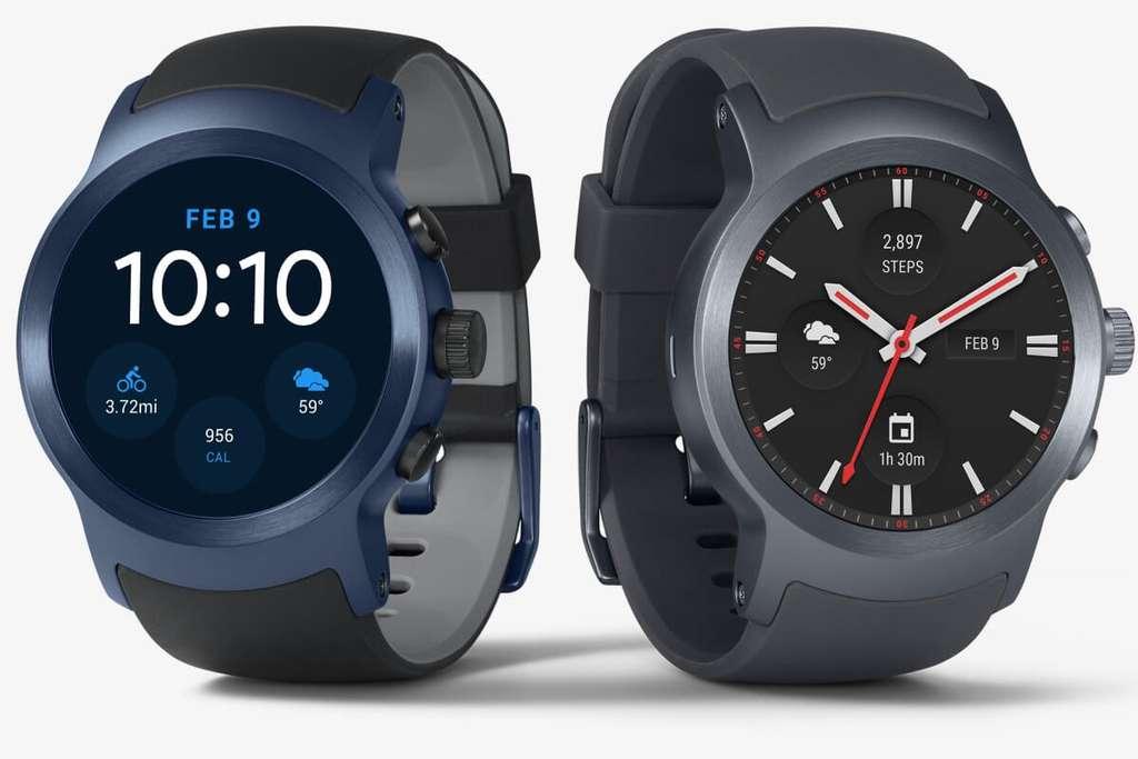 Les chercheurs de Pittsburgh ont utilisé un modèle de la marque LG fonctionnant sous Android Wear. © LG