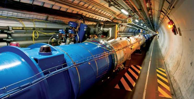 Les expériences menées au cœur du grand collisionneur de hadrons apporteraient la preuve que les fantômes n'existent pas. © Cern