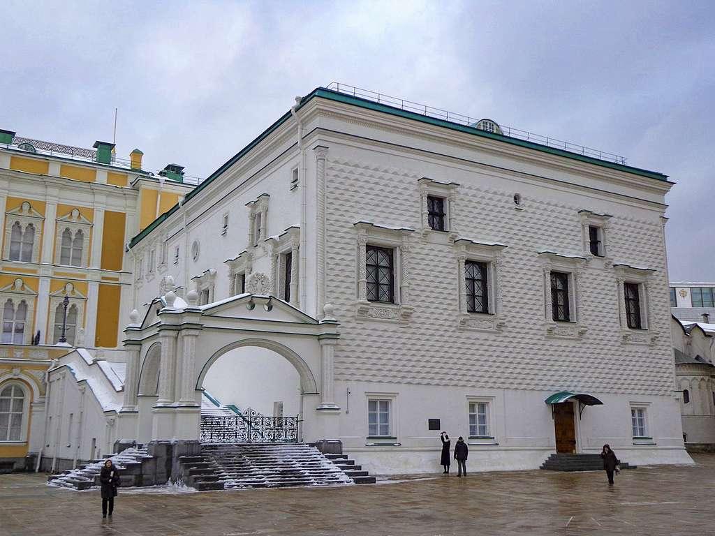 Le palais à Facettes à l'intérieur du Kremlin © Concierge.2C, Wikimedia Commons, CC by-sa 3.0