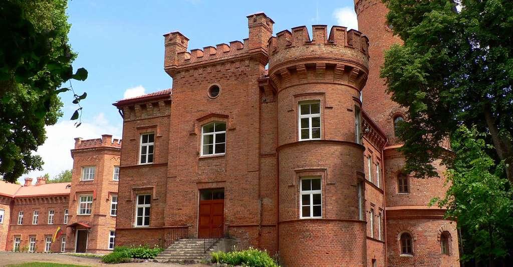 Le château de Raudonė, en Lituanie