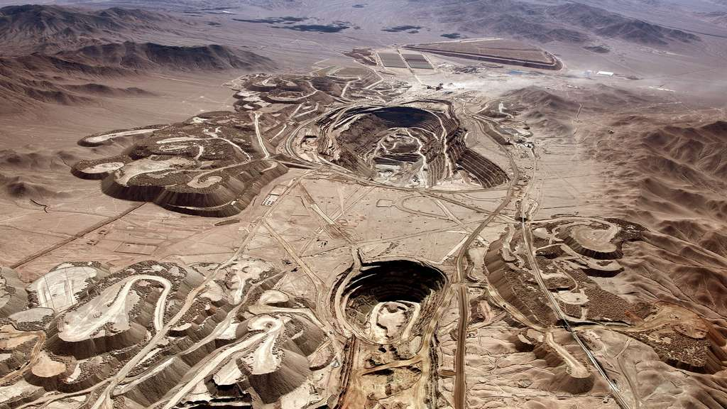La mine de Radomiro Tomic, au Chili