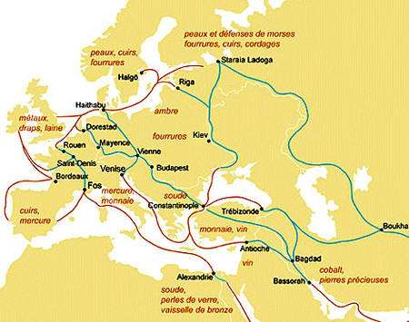 Commerce romain