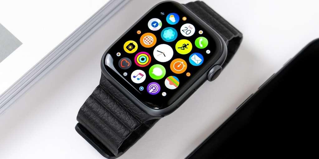 L'Apple Watch Series 4 voit son prix baisser en cette fin d'année. © Unsplash