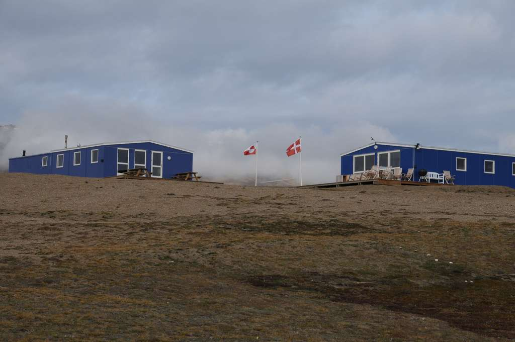 La station de recherche de Zackenberg se situe au nord-est du Groenland. © Kristian Hassel, NTNU Vitenskapsmuseet, CC by 2.0