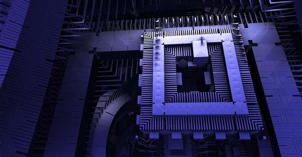 Le nouvel état de la matière découvert par des chercheurs de l'université de New York (États-Unis) pourrait servir de plateforme d'hébergement pour des particules de Majorana susceptibles de stocker de l'information quantique. © The Digital Artist, Pixabay License