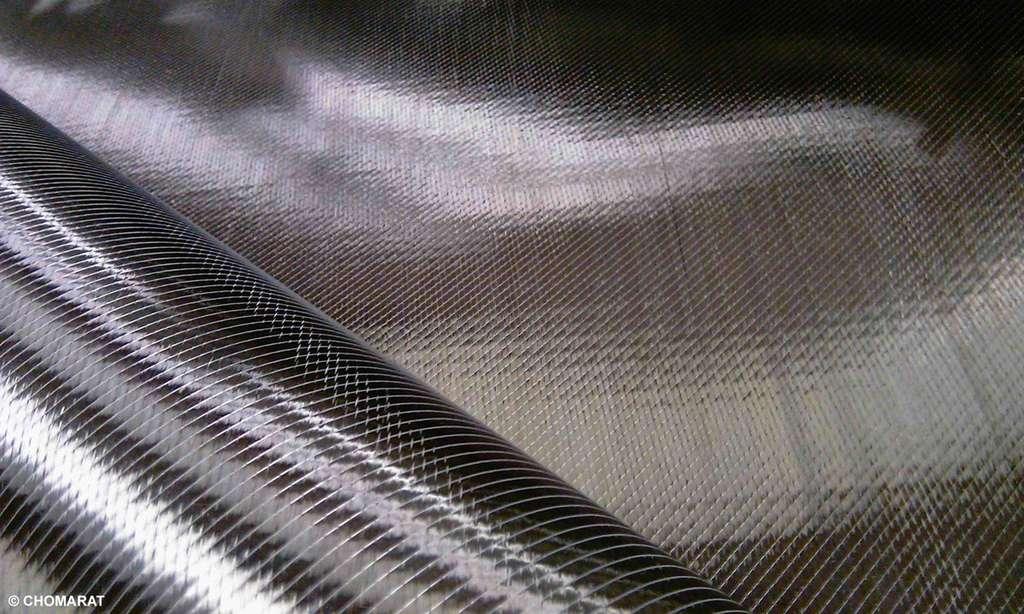 Le renfort carbone C-PLY Bi-Angle™ développé par Chomarat. © Photo reproduite avec la permission de Chomarat, EDP Sciences, tous droits réservés