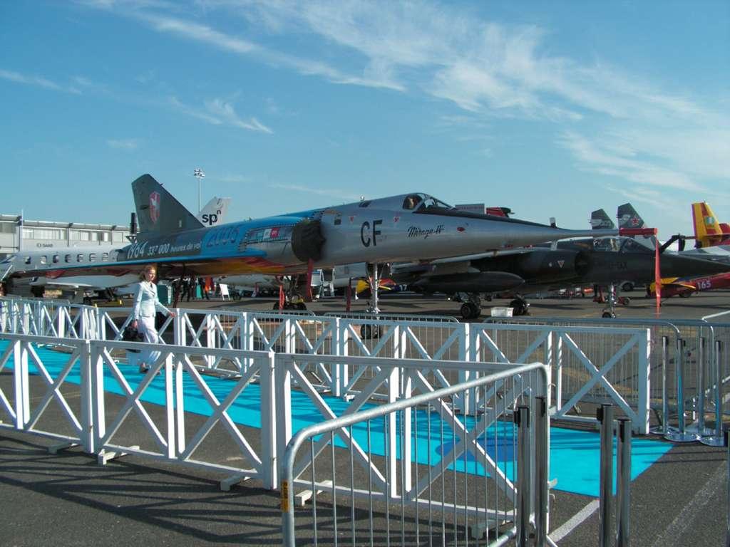 Mirage IV au Salon du Bourget