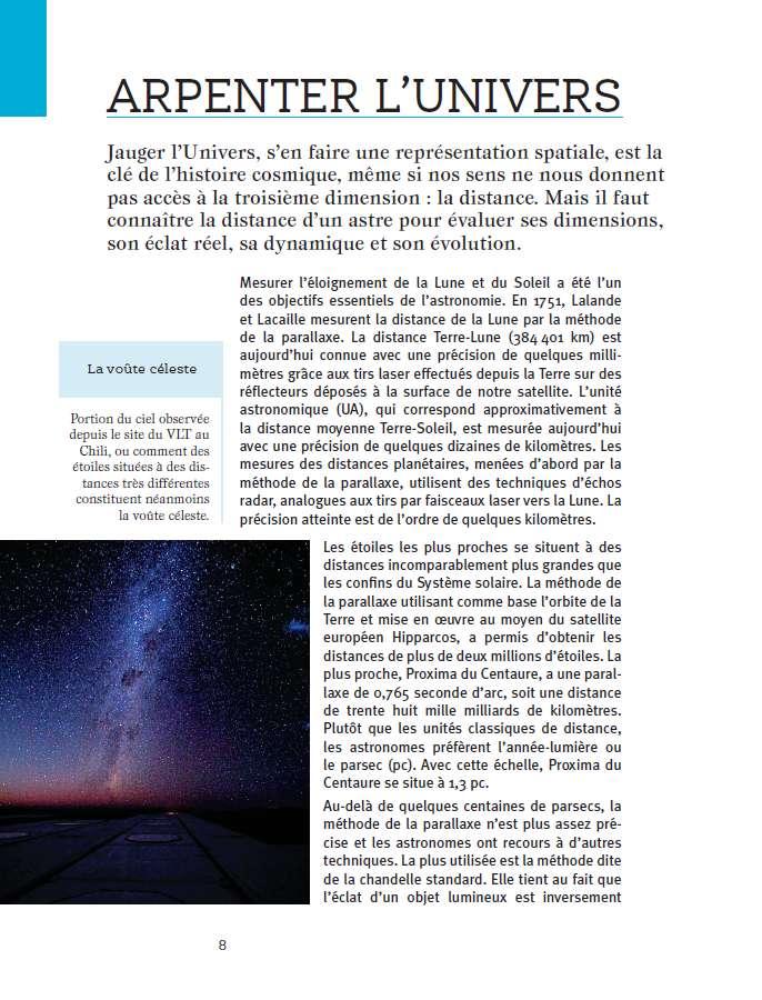 Dans la section consacrée à l'infiniment grand, le lecteur trouvera notamment les réponses à ses questions sur la voûte céleste, illustrée ici. © Dunod