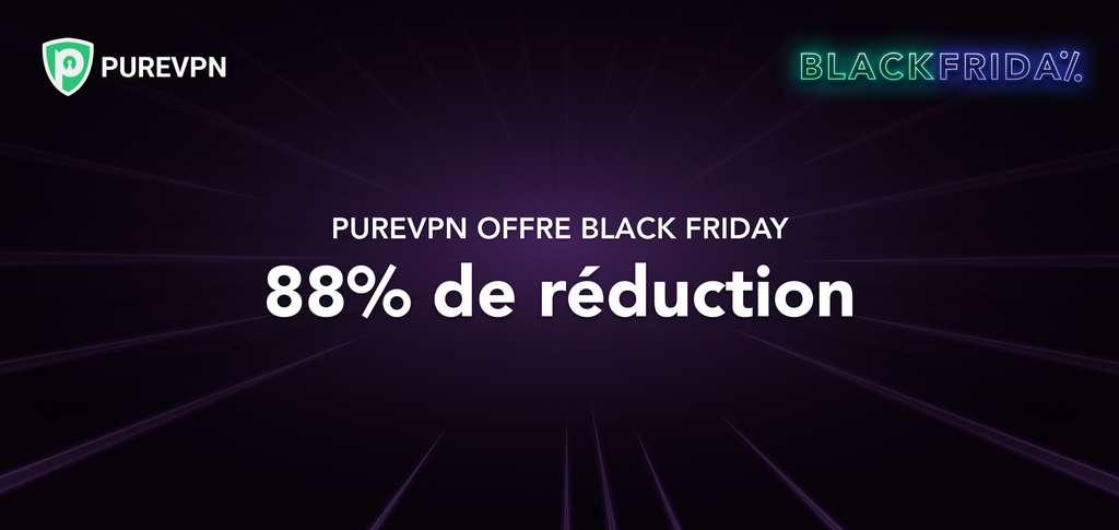 Offre PureVPN Black Friday : 5 ans d'abonnement pour seulement 71 € © PureVPN