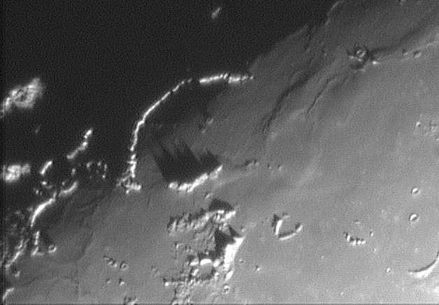 La Lune - Région de la mer des Tempêtes