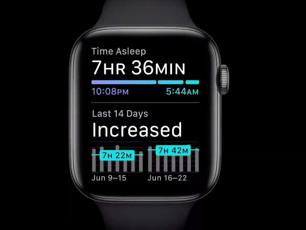 L'Apple Watch series 6 surveille enfin le sommeil. © Apple
