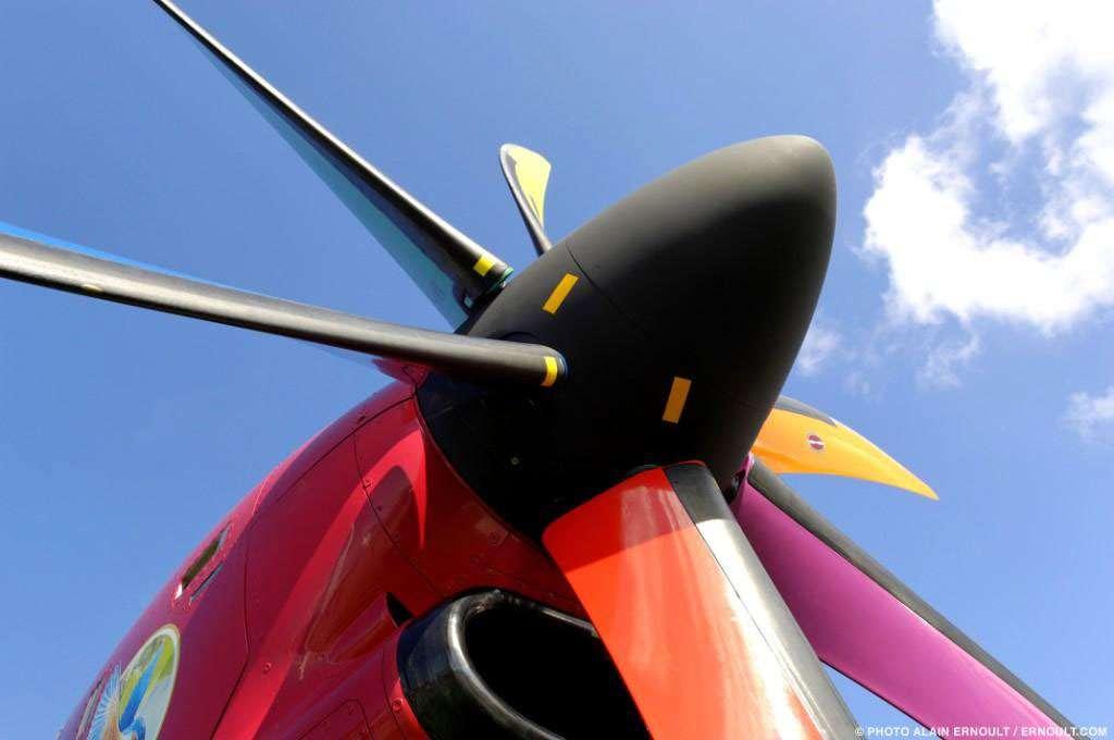 Les pales de l'ATR 72