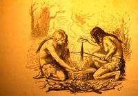 Le foret à archet vu par un artiste du XIXe, Daux, 1877