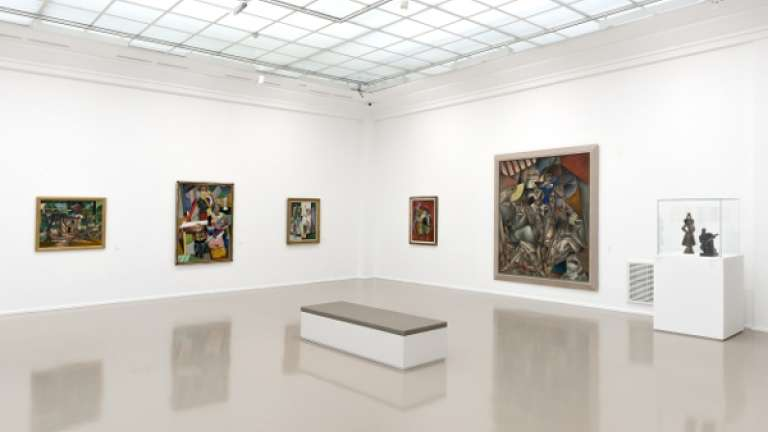 Collections permanentes du Musée d'Art moderne de la Ville de Paris (2013) © Pierre Antoine, Musée d'Art moderne de Paris