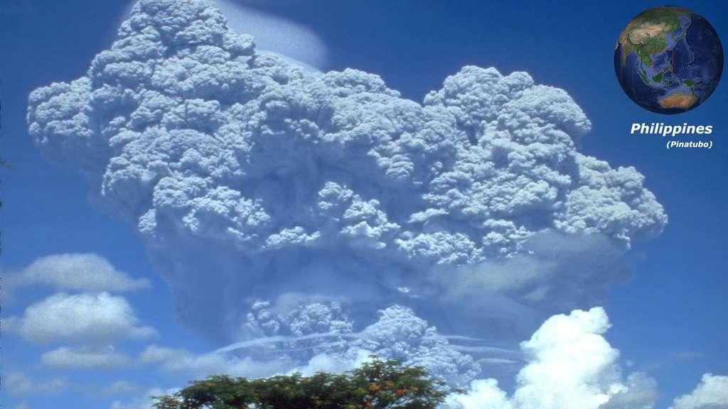 Le Pinatubo, stratovolcan des Philippines