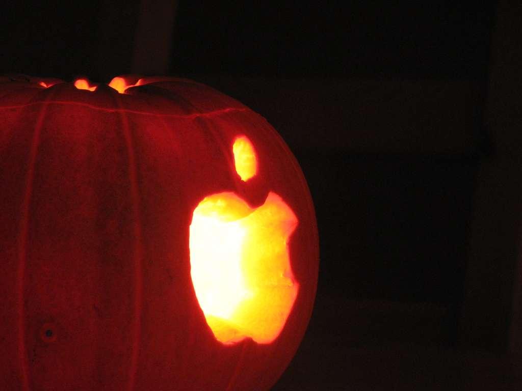 L'iPumpkin, une citrouille Apple pour fêter Halloween