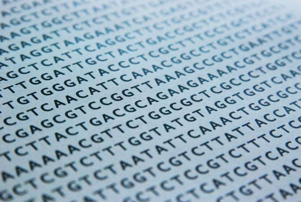 Le code génétique de l'ADN et ses nucléotides