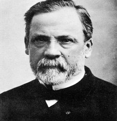 Louis Pasteur, à l'origine de la microbiologie. © Domaine public
