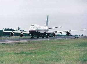 Un 747-400 peut-il voler avec un carburant vert ? © Boeing