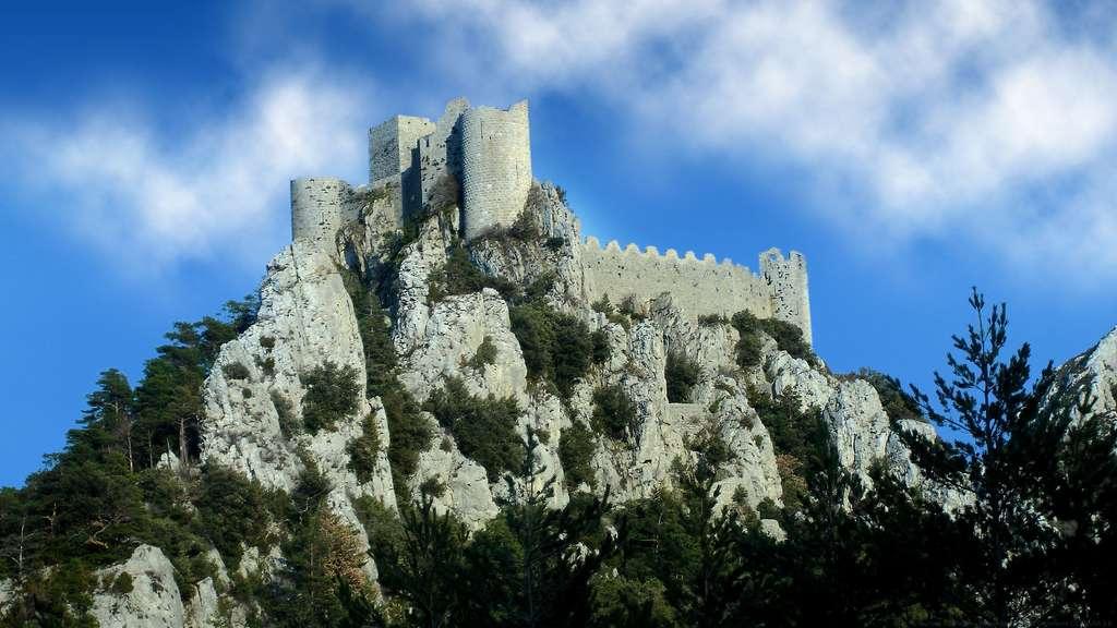 Le château de Puilaurens, un site stratégique