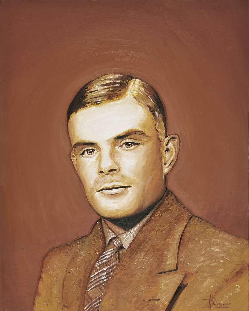 Alan Turing, à qui l'on doit notamment le test et la machine qui portent son nom, est l'un des pères de l'informatique. Depuis, de grands progrès ont été effectués en direction d'une électronique plus performante pour réaliser des ordinateurs dont la puissance de calcul finira par atteindre celle, supposée, du cerveau humain. © Daniel Rogers