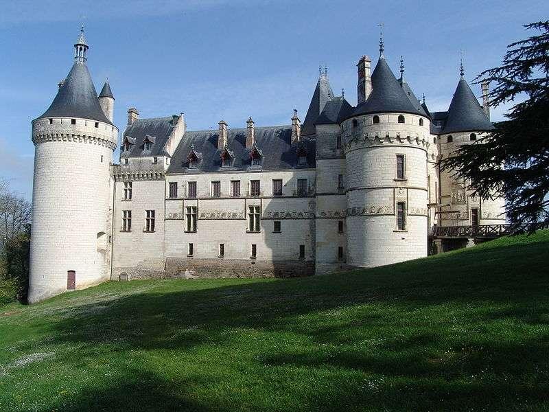 Le domaine de Chaumont-sur-Loire est classé au patrimoine mondial de l'Unesco. © Ze, Wikimedia Commons, cc by sa 3.0