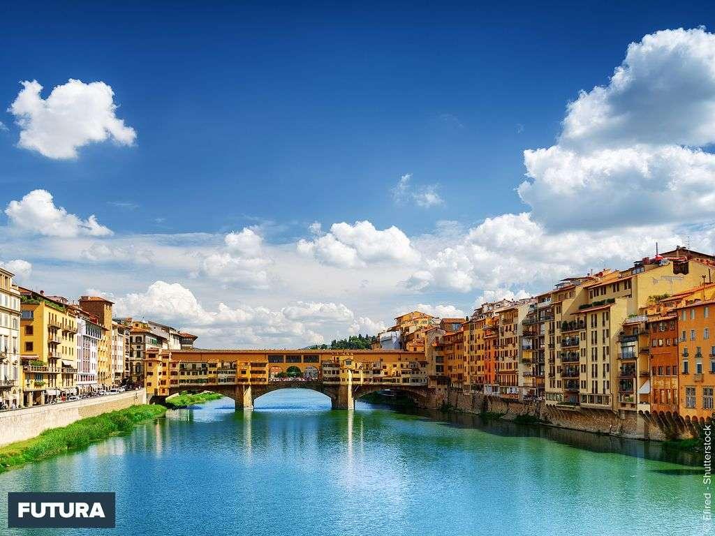 Italie : Florence le Ponte Vecchio